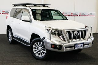 2014 Toyota Landcruiser Prado KDJ150R MY14 VX (4x4) Crystal Pearl 5 Speed Sequential Auto Wagon.