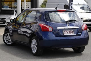 2014 Nissan Pulsar C12 ST Deep Sapphire 1 Speed Constant Variable Hatchback.