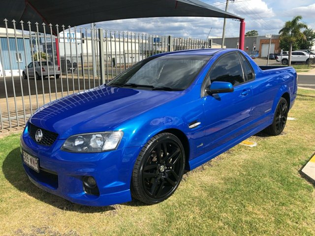 Used Holden Commodore VE II SS Thunder Toowoomba, 2011 Holden Commodore VE II SS Thunder Blue 6 Speed Manual Utility