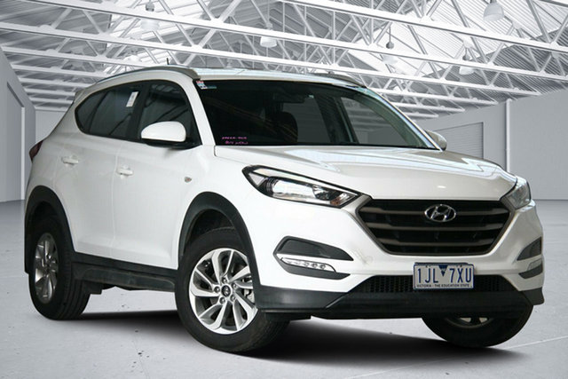 Used Hyundai Tucson TLE Active (FWD) Altona North, 2016 Hyundai Tucson TLE Active (FWD) White 6 Speed Automatic Wagon