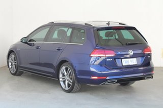 2017 Volkswagen Golf 7.5 MY18 110TSI DSG Highline Blue 7 Speed Sports Automatic Dual Clutch Wagon.