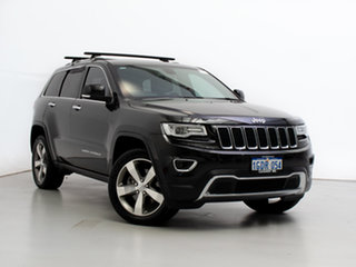 2016 Jeep Grand Cherokee WK MY15 Limited (4x4) Black 8 Speed Automatic Wagon.