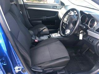 2010 Mitsubishi Lancer CJ MY11 ES Sportback Blue 6 Speed Constant Variable Hatchback