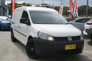 2011 Volkswagen Caddy 2KN MY11 TDI320 Maxi DSG White 6 Speed Sports Automatic Dual Clutch Van.