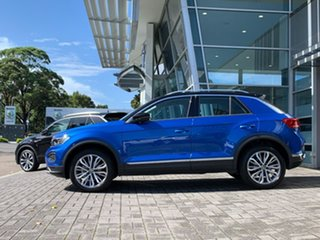 2020 Volkswagen T-ROC A1 MY21 110TSI Style Blue 8 Speed Sports Automatic Wagon