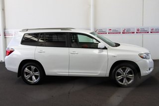 2009 Toyota Kluger GSU45R KX-S (4x4) White Pearl Crystal Shine 5 Speed Automatic Wagon