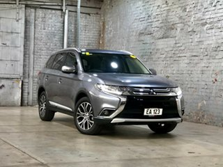 2017 Mitsubishi Outlander ZK MY17 LS 4WD Safety Pack Grey 6 Speed Constant Variable Wagon.