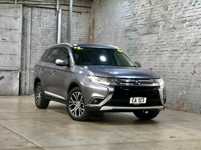 Used Mitsubishi Outlander ZK MY17 LS 4WD Mile End South, 2017 Mitsubishi Outlander ZK MY17 LS 4WD Grey 6 Speed Constant Variable Wagon