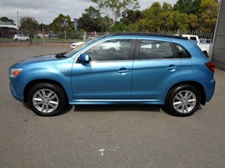 2011 Mitsubishi ASX XA MY12 2WD Kingfisher Blue 6 Speed Constant Variable Wagon