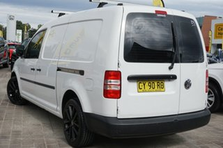 2011 Volkswagen Caddy 2KN MY11 TDI320 Maxi DSG White 6 Speed Sports Automatic Dual Clutch Van