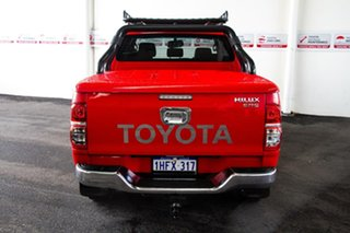 2013 Toyota Hilux KUN26R MY12 SR5 (4x4) Velocity Red 4 Speed Automatic Dual Cab Pick-up