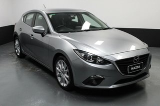 2014 Mazda 3 BM5436 SP25 SKYACTIV-MT Silver 6 Speed Manual Hatchback