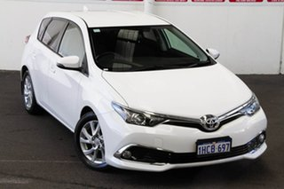 2018 Toyota Corolla ZRE182R Ascent Sport S-CVT Glacier White 7 Speed Constant Variable Hatchback