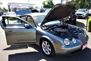 2004 Jaguar S-Type X204 Luxury Silver 6 Speed Automatic Sedan