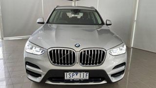 2018 BMW X3 G01 xDrive30i Steptronic Silver, Chrome 8 Speed Automatic Wagon