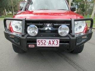 2008 Mitsubishi Pajero NS GLX Red 5 Speed Sports Automatic Wagon