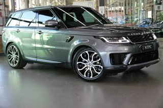 2018 Land Rover Range Rover Sport L494 18MY SE Grey 8 Speed Sports Automatic Wagon.