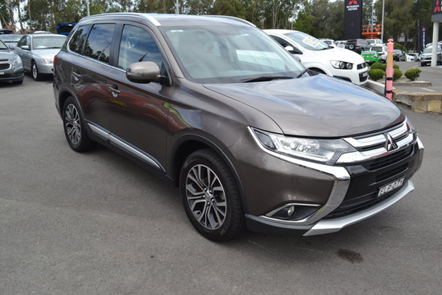Used Mitsubishi Outlander ZK MY16 XLS 4WD Maitland, 2016 Mitsubishi Outlander ZK MY16 XLS 4WD Bronze 6 Speed Constant Variable Wagon