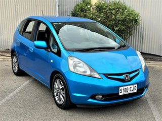 2010 Honda Jazz GE MY10 GLI Limited Edition Blue 5 Speed Automatic Hatchback.