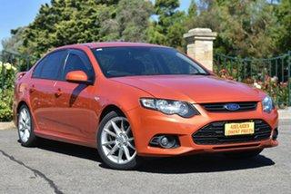 2012 Ford Falcon FG MkII XR6 Orange 6 Speed Sports Automatic Sedan.