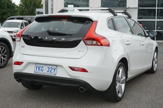 2015 Volvo V40 M Series MY15 D4 Adap Geartronic Luxury White 8 Speed Sports Automatic Hatchback