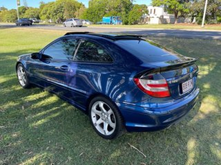 2007 Mercedes-Benz C-Class CL203 MY07 C180 Kompressor Sports Evolution Blue 5 Speed Automatic Coupe