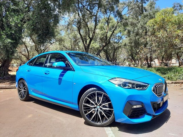 Used BMW 2 Series F44 218i Gran Coupe DCT Steptronic M Sport Adelaide, 2020 BMW 2 Series F44 218i Gran Coupe DCT Steptronic M Sport Blue 7 Speed