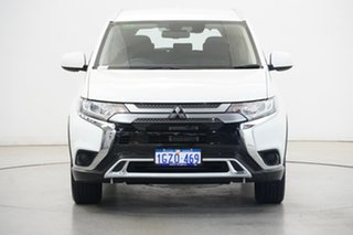 2020 Mitsubishi Outlander ZL MY20 ES 2WD White 6 Speed Constant Variable Wagon.