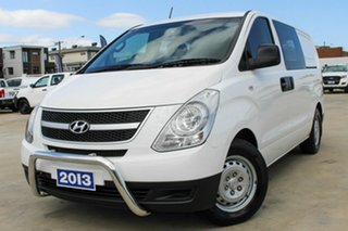 2013 Hyundai iLOAD TQ2-V MY13 White 5 Speed Automatic Van.