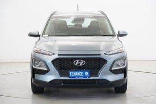 2019 Hyundai Kona OS.3 MY20 Active 2WD Lake Silver 6 Speed Sports Automatic Wagon.