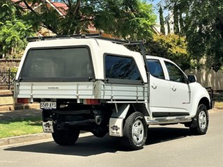 2013 Holden Colorado RG MY13 LX Crew Cab White 6 Speed Sports Automatic Cab Chassis