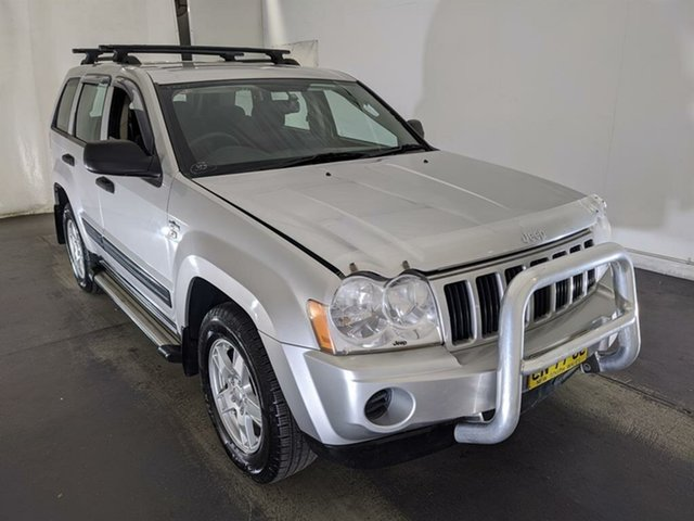 Used Jeep Grand Cherokee WH MY2006 Laredo Navigator Maryville, 2006 Jeep Grand Cherokee WH MY2006 Laredo Navigator Silver 5 Speed Automatic Wagon