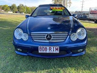 2007 Mercedes-Benz C-Class CL203 MY07 C180 Kompressor Sports Evolution Blue 5 Speed Automatic Coupe
