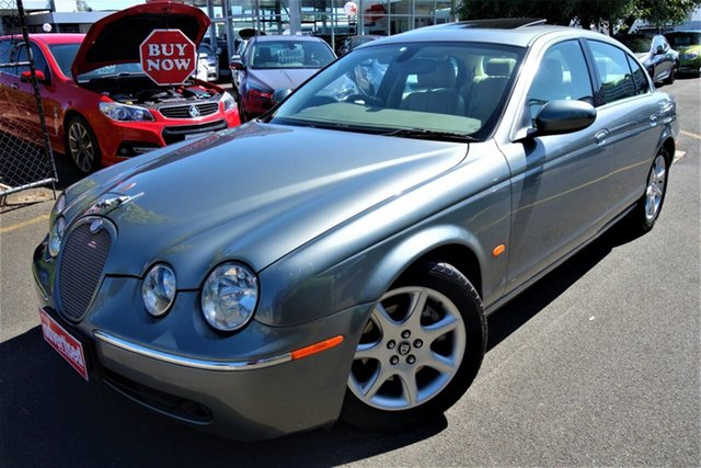 Used Jaguar S-Type X204 Luxury Seaford, 2004 Jaguar S-Type X204 Luxury Silver 6 Speed Automatic Sedan