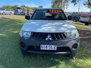 2008 Mitsubishi Triton ML MY08 GLX Double Cab 4x2 White 4 Speed Automatic Utility