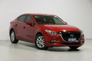 2016 Mazda 3 BN MY17 Maxx Red 6 Speed Automatic Sedan.