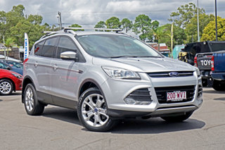2013 Ford Kuga TF Trend PwrShift AWD Silver 6 Speed Sports Automatic Dual Clutch Wagon.