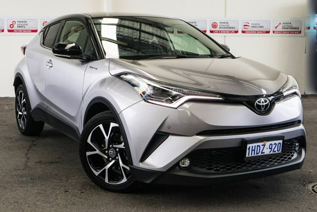Pre-Owned Toyota C-HR NGX10R Koba S-CVT 2WD Rockingham, 2019 Toyota C-HR NGX10R Koba S-CVT 2WD Shadow Platinum & Black Roof 7 Speed Constant Variable Wagon