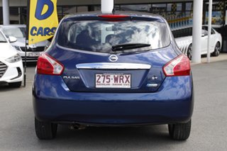 2014 Nissan Pulsar C12 ST Deep Sapphire 1 Speed Constant Variable Hatchback