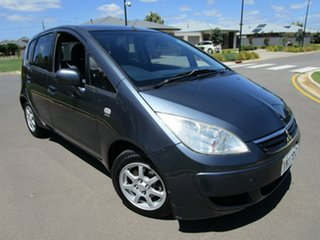 2007 Mitsubishi Colt RG MY06 Upgrade LS Grey Continuous Variable Hatchback