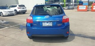 2012 Toyota Corolla ZRE152R MY11 Ascent Sport Blue 4 Speed Automatic Hatchback