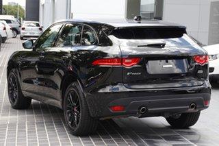 2019 Jaguar F-PACE X761 MY19 R-Sport Santorini Black 8 Speed Sports Automatic Wagon.
