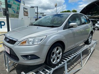 2010 Ford Focus LV Mk II TDCi PwrShift Moondust Silver 6 Speed Sports Automatic Dual Clutch.