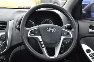 2013 Hyundai Accent RB Active Blue 5 Speed Manual Hatchback