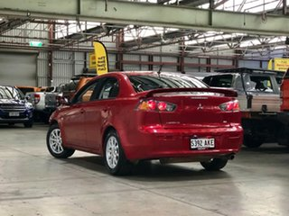 2011 Mitsubishi Lancer CJ MY11 SX Red 6 Speed Constant Variable Sedan
