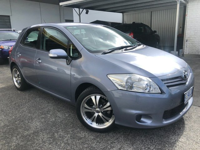 Used Toyota Corolla ZRE152R MY10 Ascent Derwent Park, 2010 Toyota Corolla ZRE152R MY10 Ascent Grey 6 Speed Manual Hatchback