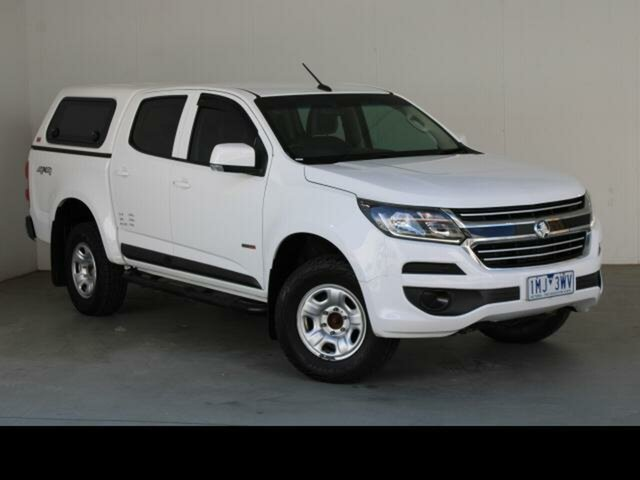 Used Holden Colorado RG MY18 LS (4x4) Belconnen, 2017 Holden Colorado RG MY18 LS (4x4) White 6 Speed Automatic Crew Cab Pickup