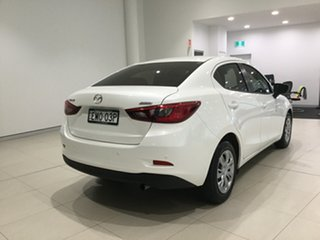 2018 Mazda 2 DL2SAA Neo SKYACTIV-Drive White 6 Speed Sports Automatic Sedan.