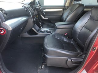 2010 Kia Sorento XM SLi (4x4) Red 6 Speed Automatic Wagon