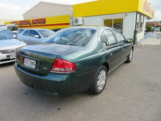 2007 Ford Falcon BF MkII XT Green 4 Speed Auto Seq Sportshift Sedan